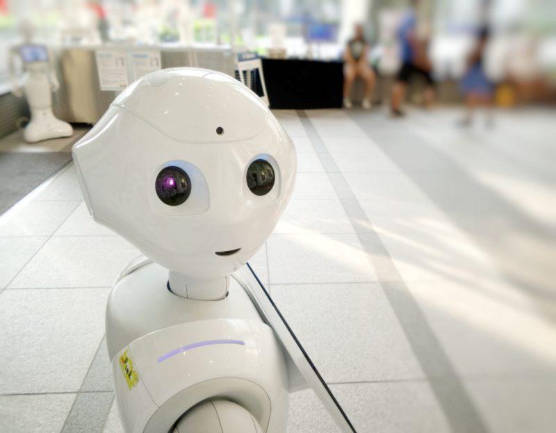 AI搭載のロボット